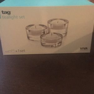 Tag tealight set